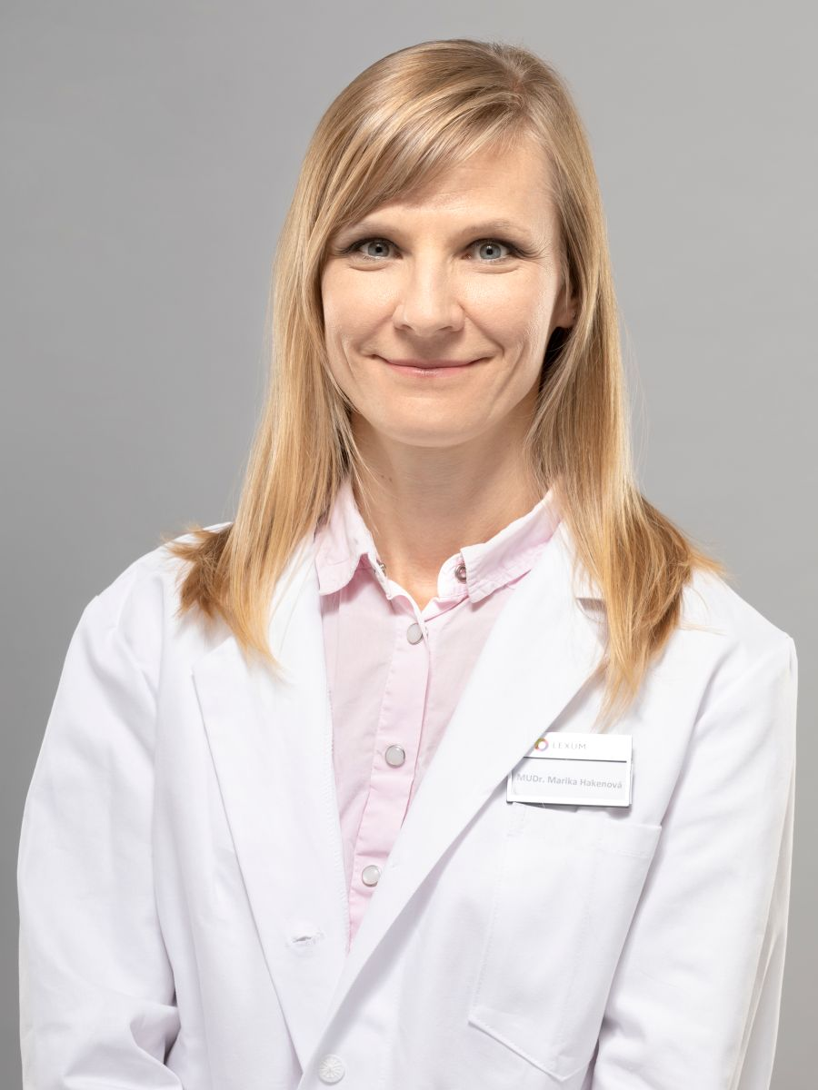 MUDr. Marika Hakenová