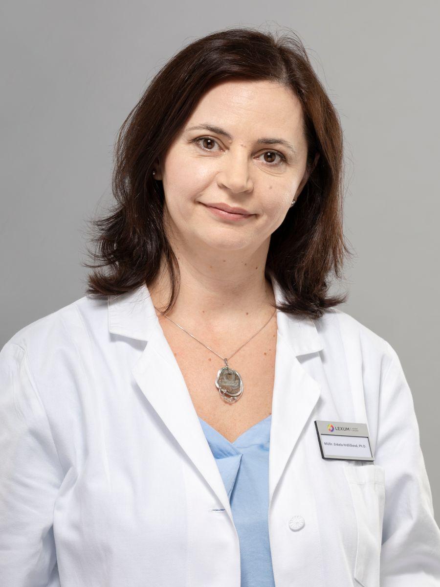 MUDr. Enkela Hrdličková, Ph.D.