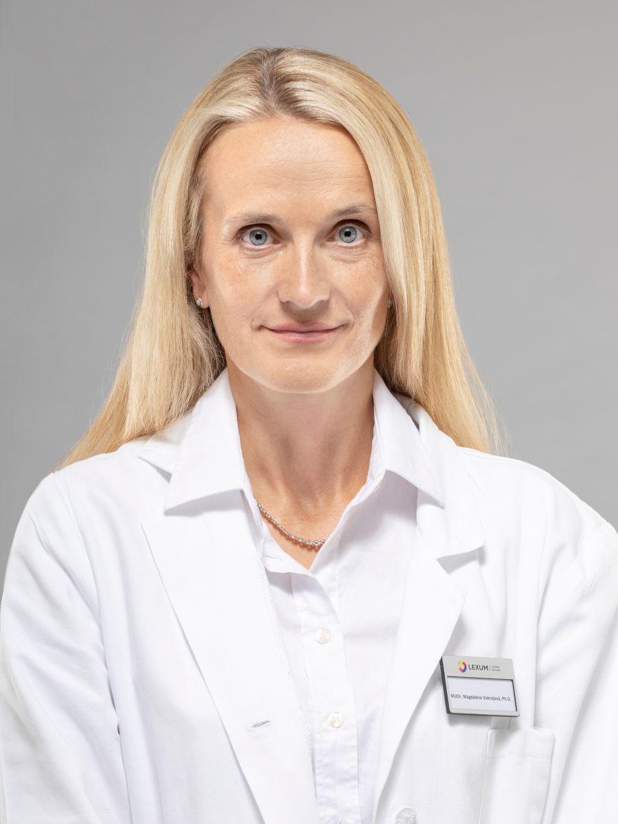 MUDr. Magdalena Vokrojová, Ph.D.
