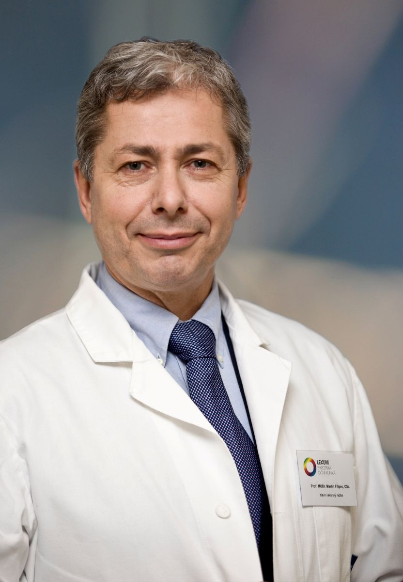 Prof. MUDr. Martin Filipec, CSc.